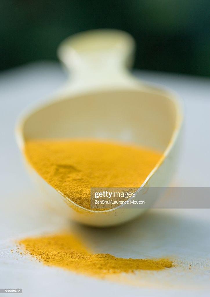 Turmeric powder : Stock Photo