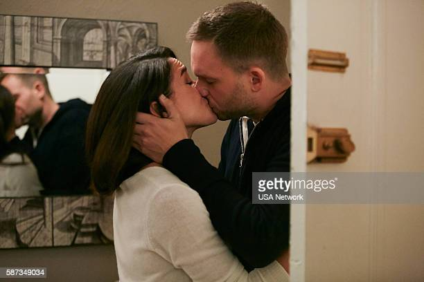 SUITS 'Turn' Episode 604 Pictured Meghan Markle as Rachel Zane Patrick J Adams as Michael Ross