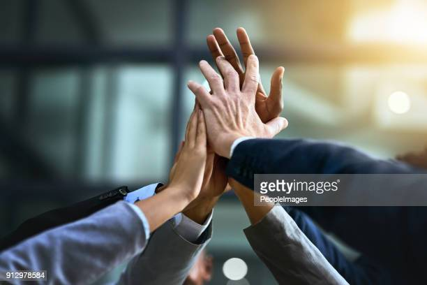 turn good business into great business with teamwork - achievement stock pictures, royalty-free photos & images