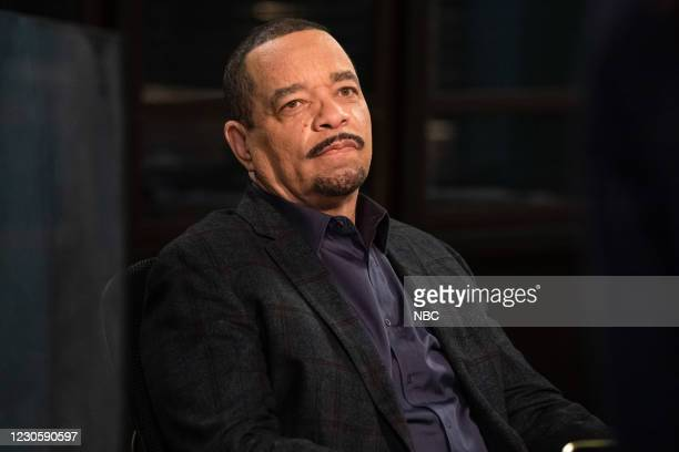 """Turn Me On, Take Me Private"""" Episode 22004 -- Pictured: Ice T as Detective Odafin """"Fin"""" Tutuola --"""