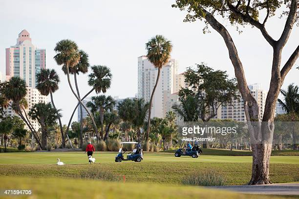 turnberry golf course in aventura, miami suburb, florida - aventura stock photos and pictures