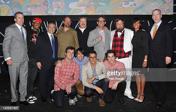 Turner Broadcasting Sales EVP Joe Hogan Nick Cannon Cartoon Network President/COO Stuart Snyder William Salyers John Dimaggio Tom Kenny Pendleton...