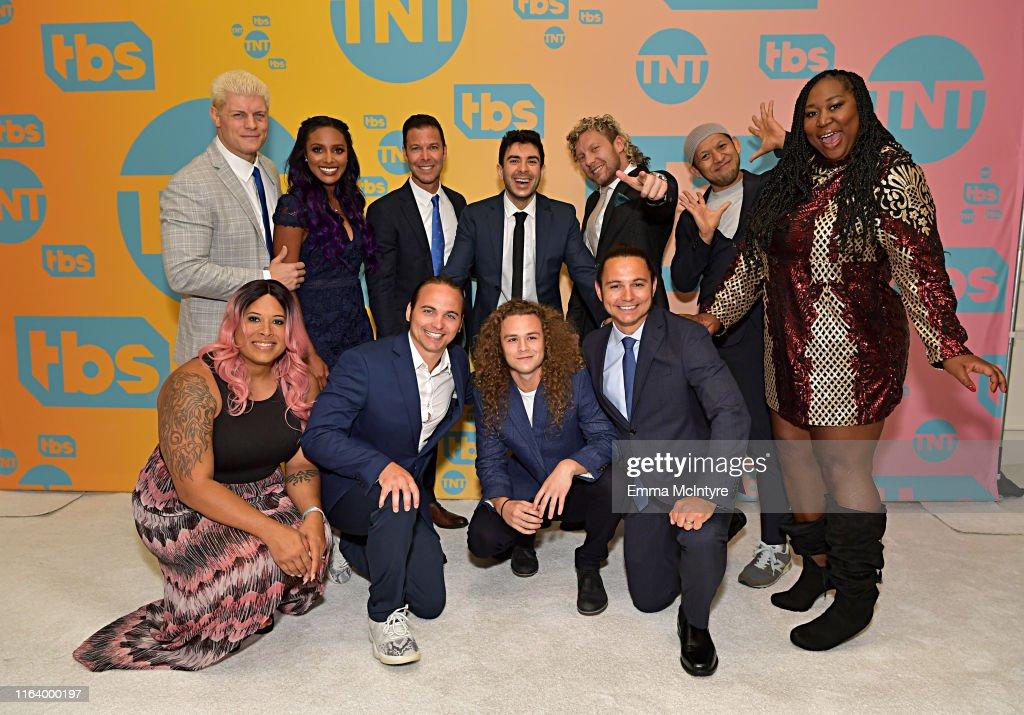 TBS + TNT Summer TCA 2019 - Green Room : News Photo