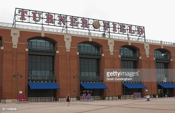 Turner Field, home of the Atlanta Braves, on July 26, 2004 in Atlanta, Georgia.