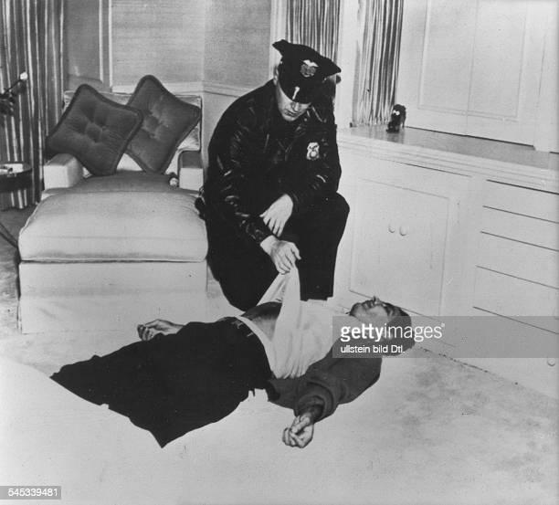 Turner Lana * Schauspielerin USA der Liebhaber von LT Johnny Stompanato erstochen von Cheryl Tochter von Lana Turner 1958