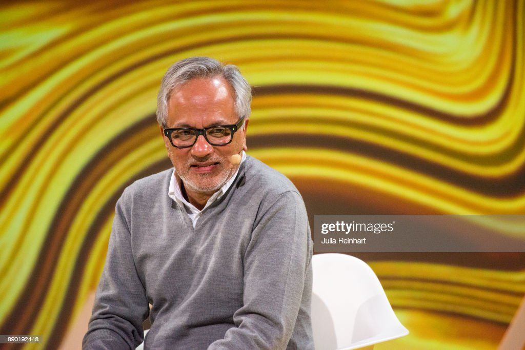 Turner Prize winning sculptor Sir Anish Kapoor speaks at 'Nobel Week Dialogue: the Future of Truth' conference at at Svenska Massan on December 9, 2017, in Gothenburg, Sweden.