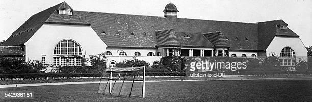 Turnhalle der MilitärTurnanstalt der Reichswehr in Wünsdorf undatiertveröffentlicht BZ 3009 1931 Foto Atelier Badekow