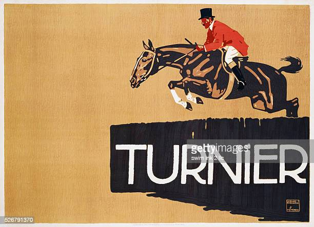Turnier Poster by Ludwig Holwein