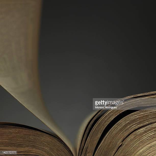 turning page of book - literatura - fotografias e filmes do acervo