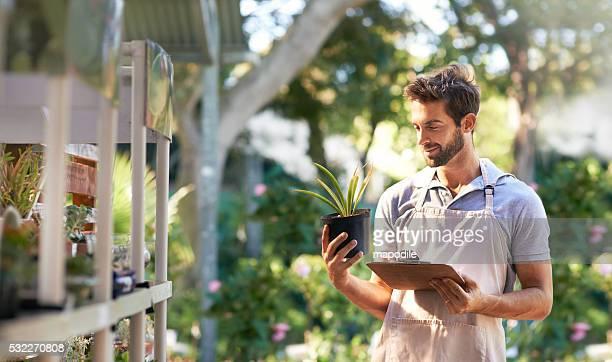 Tournant plantes à but non lucratif