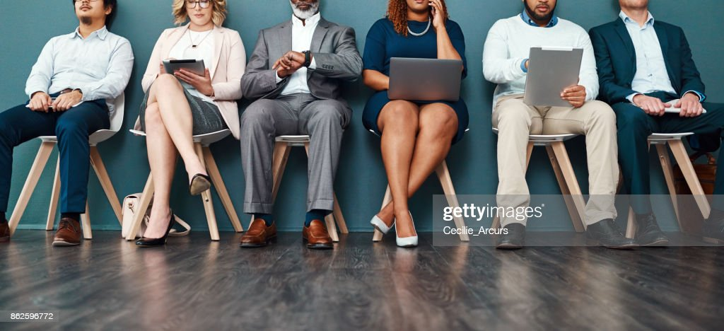 Turning waiting time into a productive time : Stock Photo