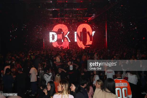 YORK DKNY turns 30 with special live performances by Halsey and The Martinez Brothers at St Ann's Warehouse on September 09 2019 in New York City
