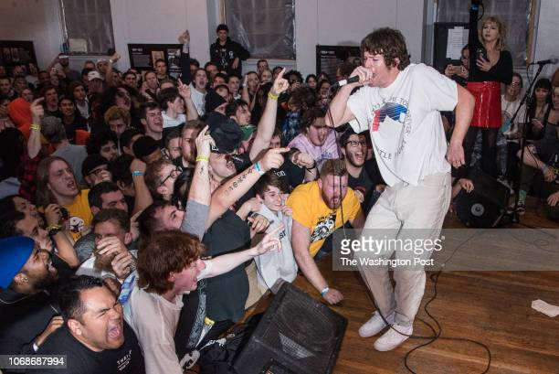 Turnstile performs at the Damaged City 2018 preshow at All Souls Church Pictured Brendan Yates center