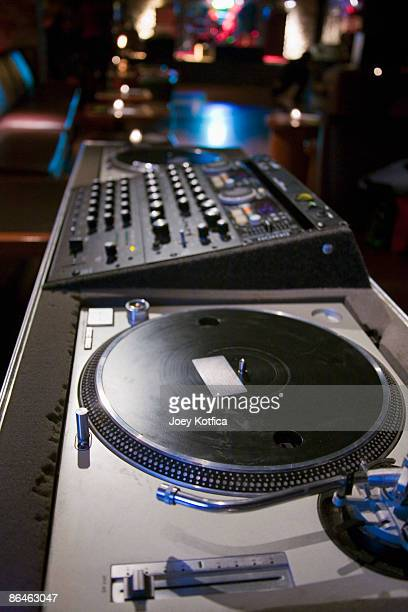 Turntable and mixing board