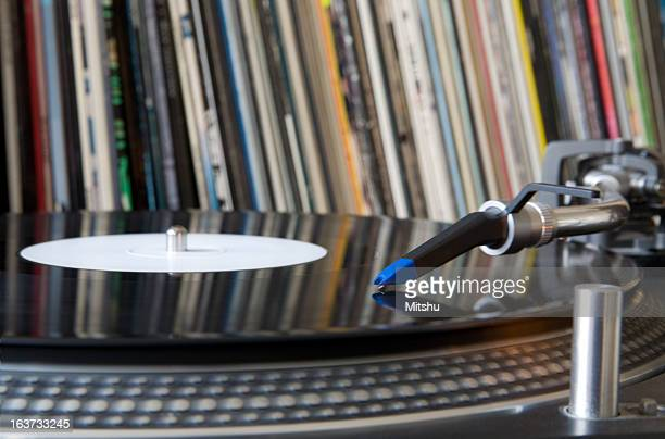turntable - saffier stockfoto's en -beelden