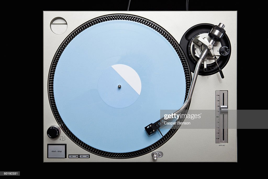 A turntable : Stock Photo