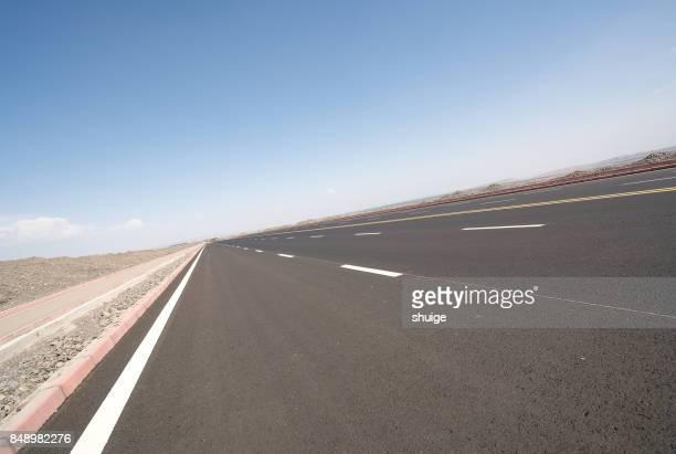 Turpan north to turpan road