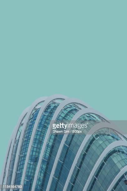 turquoise azure - marina bay singapur stock-fotos und bilder