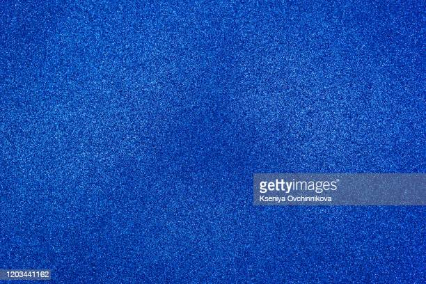 turquoise blue color glitter texture background. - bling bling stock pictures, royalty-free photos & images