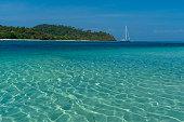 turquoise color andaman sea thailand southeast