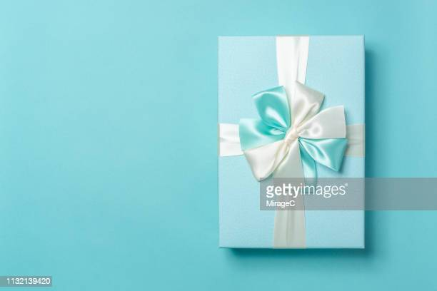Turquoise Colored Gift Box