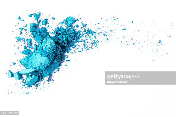 turquoise eyeshadow - eyeshadow stock pictures, royalty-free photos & images