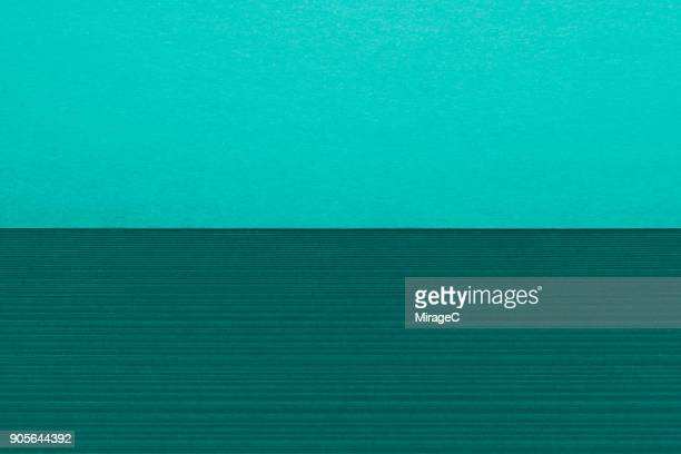Turquoise Green Colored Paper Stacking