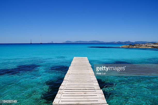 Turquoise waters formentera