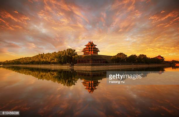 Turret Palace of the Forbidden City, Beijing, China