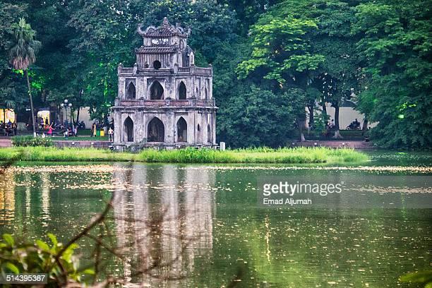 Turtle Tower, Hanoi, Vietnam