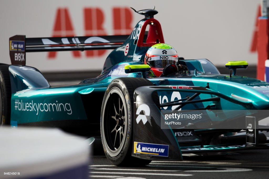 O. Turvey of Neo during Rome E-Prix Round 7 as part of the ABB FIA Formula E Championship on April 14, 2018 in Rome, Italy.