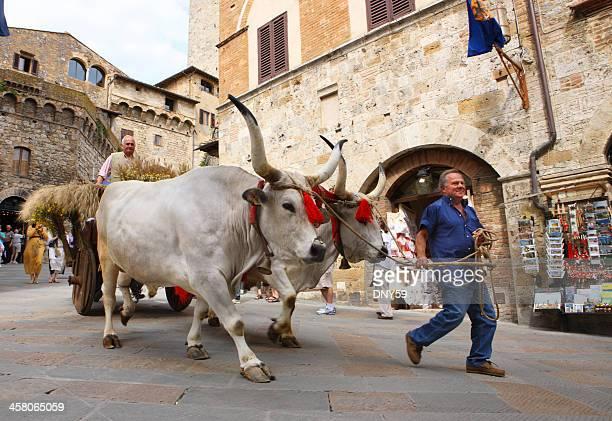 Toskanische mittelalterlichen Street Festival