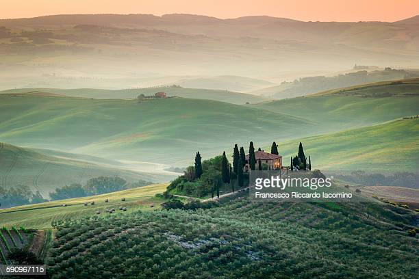 Tuscany in the morning