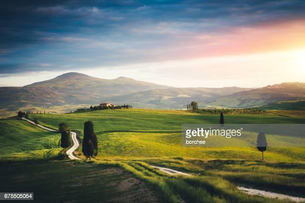 Tuscany landschap