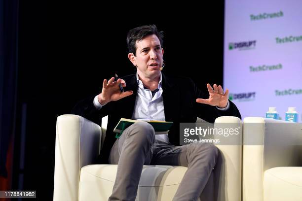 Tusk Ventures Founder & CEO Bradley Tusk speaks onstage during TechCrunch Disrupt San Francisco 2019 at Moscone Convention Center on October 03, 2019...