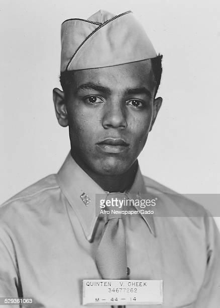 Tuskegee Airman during World War 2, 1942.