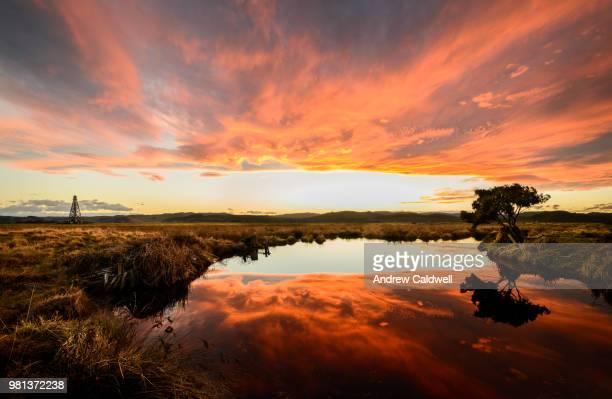Tussock Tarn Sunset IV