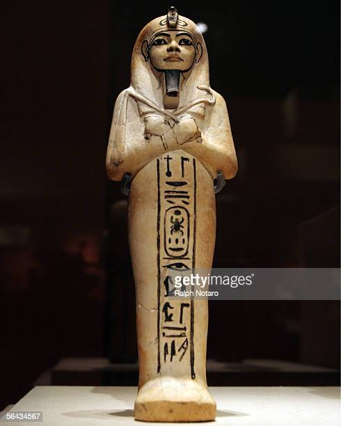 Tutankhamun and the Golden Age of the Pharohs Exibit opens at the Museum of Art Ft Lauderdale on December 14 2005 in Fort Lauderdale Florida Shown...