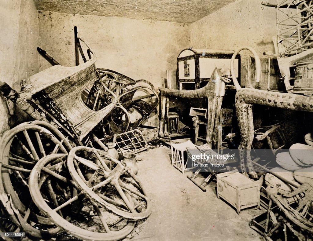 Tutankhamun's Tomb Valley Of The Kings Egypt November 1922 : News Photo