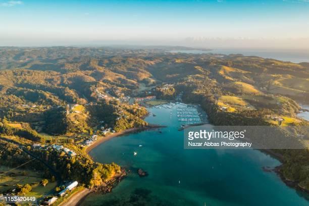 tutukaka coast. - whangarei heads stock pictures, royalty-free photos & images