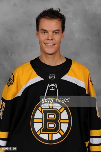 Tuukka Rask of the Boston Bruins poses for his official headshot for the 20172018 season on September 16 2017 in Boston Massachusetts