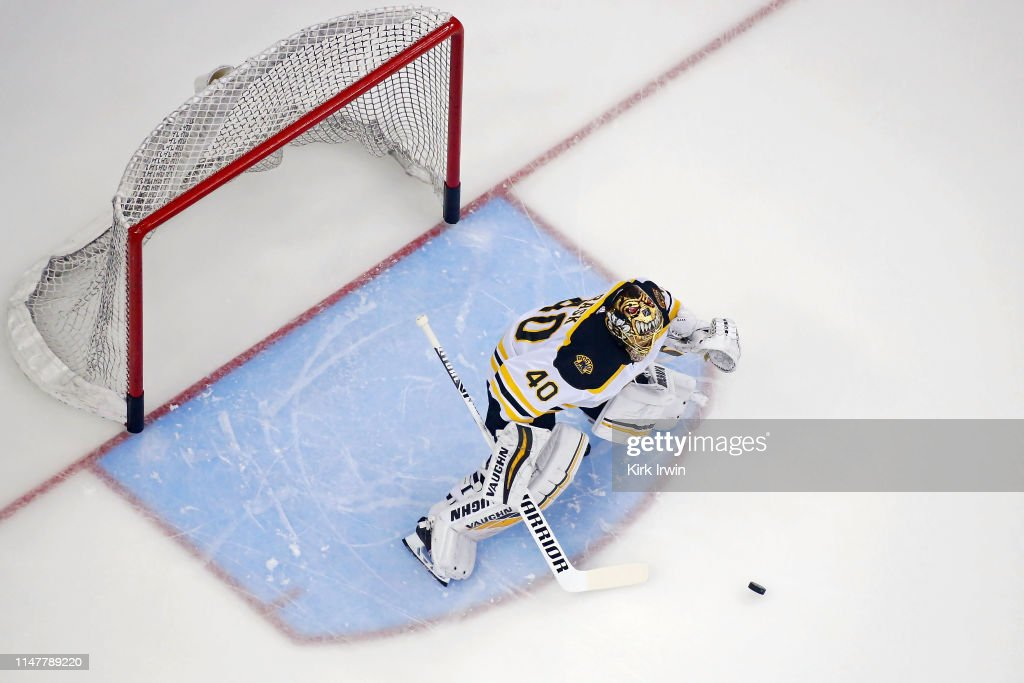 Boston Bruins v Columbus Blue Jackets - Game Six : News Photo