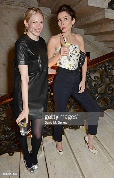 Tuuli Shipster and Anna Friel attend the InStyle Best of British Talent party in celebration of BAFTA in association with Lancome and Sky Living at...