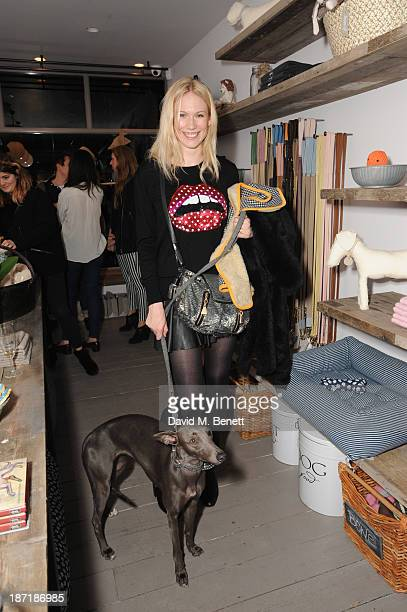Tuuli Shipster attends Luxury dog cat outfitters Mungo Maud invite fourlegged guests with VIP owners to launch their collaboration with US fashion...