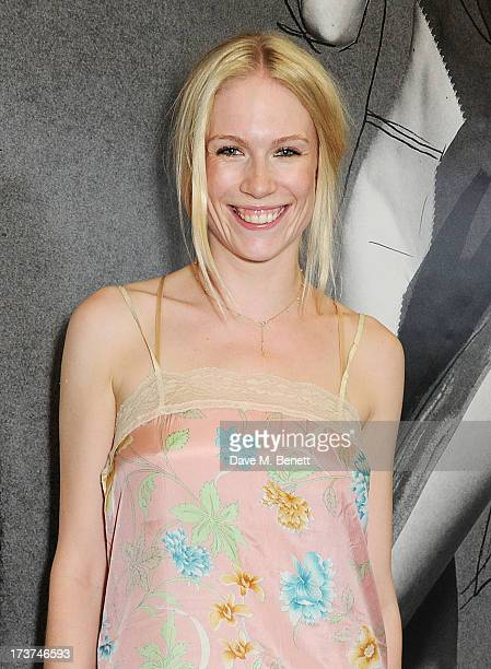 Tuuli Shipster attends the French Connection x Rankin 'The Full Service' #SketchToStore campaign launch at Rankin Studios on July 17 2013 in London...