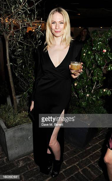 Tuuli Shipster attends the InStyle Best Of British Talent party in association with Lancome and Avenue 32 at Shoreditch House on January 30 2013 in...
