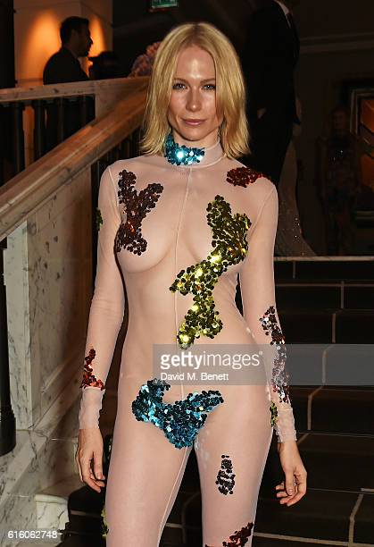 Tuuli Shipster attends the Scottish Fashion Awards in association with Maserati at Rosewood Hotel on October 21 2016 in London England