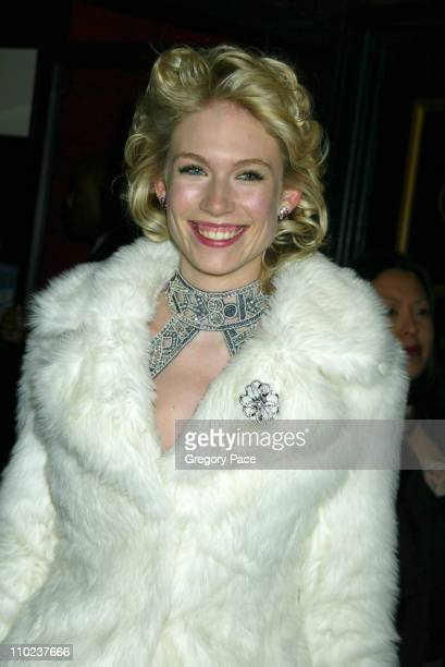 Tuuli Shipster during The Aviator New York City Premiere Inside Arrivals at Ziegfeld Theater in New York City New York United States