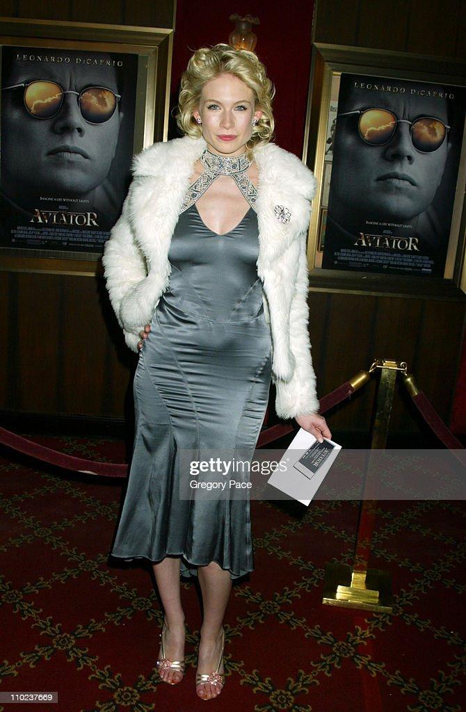 """The Aviator"" New York City Premiere - Inside Arrivals : News Photo"