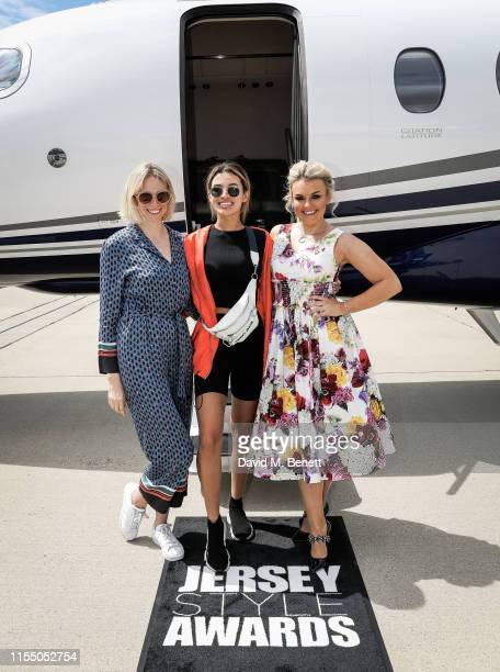 Tuuli Shipster Montana Brown and Tallia Storm on the way to the MMG Jersey Style Awards flown by Textron Aviation private jets in a Citation Latitude...